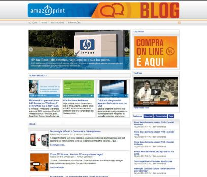 Novo Blog da Amazon Print by ullissescastro