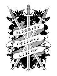 Serenity, Courage and Wisdom by dssken