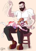 commission spanking by Alermg