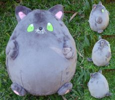 Giant Squishy Kitty Plush Commission by Pwyllo