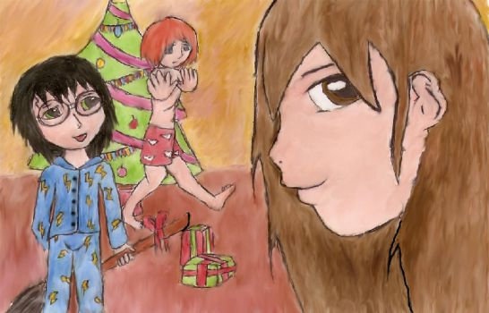 X-mas Entry 3. by phjasmine by Hogwarts-Castle