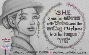 Who is a Godly Woman? by oooangelicartooo