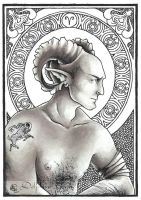 Aries by delfee