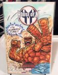 THE THING Sketch Cover COLORED (Hazlewood / Lydic) by DRHazlewood
