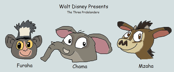 The Three Pridelanders by TannerxDelia