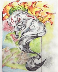 Okami Amaterasu, 2019 by MadArtistParadise