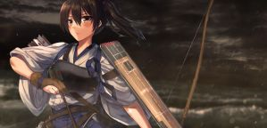 Kaga - Kantai Collection by Ariasandhy