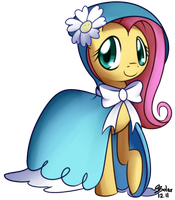 Fluttershy - Dress by Solar-Slash