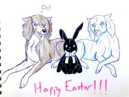 HAPPY EASTER!!! by yugiohfreakXD