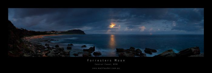 Forresters Moon by MattLauder