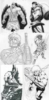 Some random sketches by Brolo