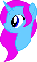 Painted Melody Headshot by Flower-Dash