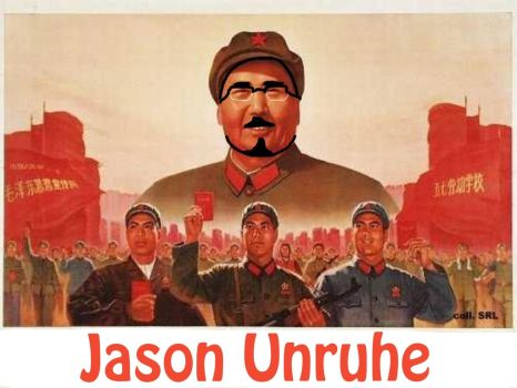 Jason Unruhe AKA. Maoist Rebel by F1st-of-R3volution