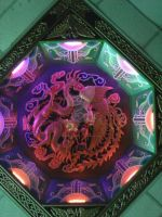 Chinese Dragon Ceiling by RavenRechior