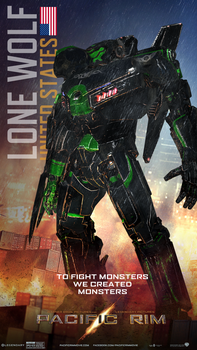 Pacific Rim - 'Lone Wolf' by bellj135