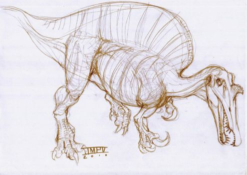 spinosaurus by epic3d