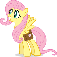 Fluttershy Grinning by HornFlakes