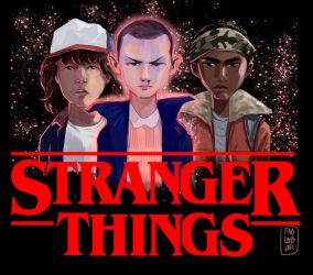 Stranger Things Poster by FabianCobos