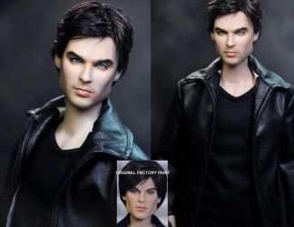 Vampire Diaries Damon doll by noeling