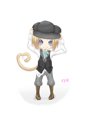 Zidane, the Victorian Chibi by TehEmoFox