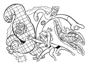 Fantastic Four_Blair style by tombancroft