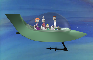 THE JETSONS FAMILY by peterhirschberg