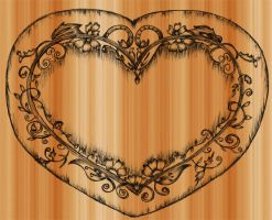 Sketchy Heart-Brush by Stockgraphicdesigns