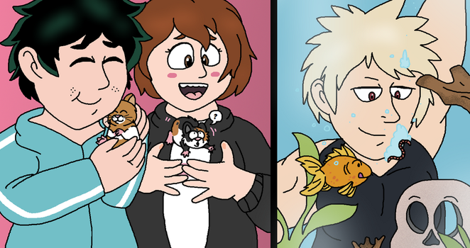 MHA: Pet Responsibilities by Critterz11