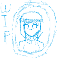 Pastel Child (WIP/Sketch) by roxellover101