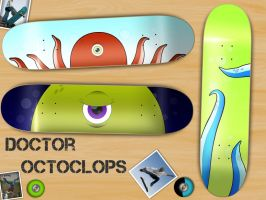 Doctor Octoclops: Deck Designs by halfscottishguy