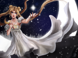 Sailor Moon - Happy New Year! by Arcan-Anzas