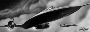 SR-71A by Luftwaffles