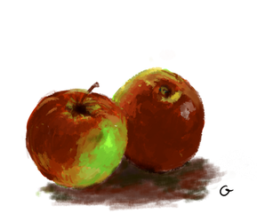 Apples - still_nature study :) by MichalG