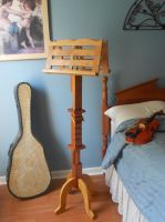 Double-Sided Music Stand by Fandragon