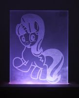 Starlight Glimmer Acrylic LED Picture by steeph-k