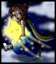 .-'Steal a Star'-. by Ombreblu
