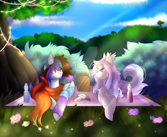 Picnic time ! [Collab] by Twily-Star
