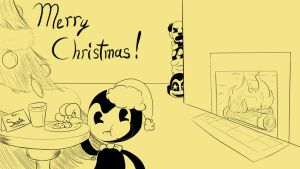 How Bendy Wound up on the Naughty List by shamira-g
