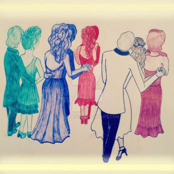 Dancing Couples Coloured by tasha95