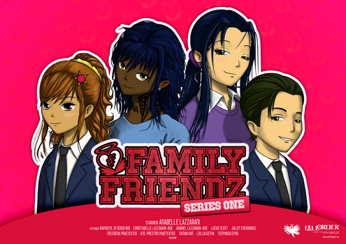 Family Friendz Series One Poster by GrandLS