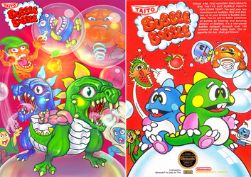 Bubble Bobble Cover remake. by Omegachaino