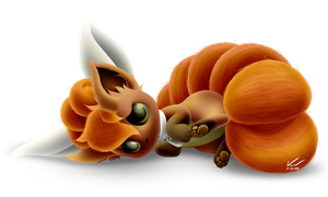 Regular Vulpix Recolor by SymbianL