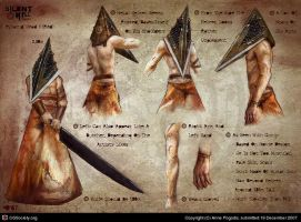 Cuddle Me Pyramid Head by ZombieSandwich