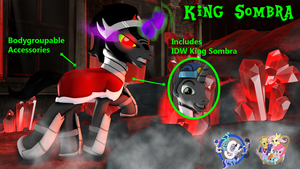 [DL] King Sombra by BeardedDoomGuy