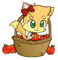 Tisket-a-Tasket Baker in a Basket by DrizzleDaydream
