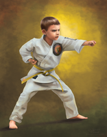 Parker the Karate Kid by iamniquey