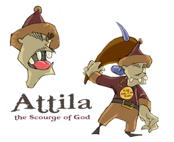 Attila by GreenBearBrummbar