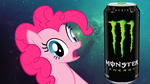 ANIMATION (link below) - Pinkie Drinks Monster by firedog32