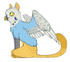 griffin OC by undead-feline