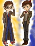 Chibi 10th and 11th by Checker-Bee